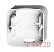 Коробка для накладного монтажа 1 пост, белый, Valena 755551 Legrand