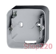 Коробка для накладного монтажа 1-постов,а алюминий, Valena 755571 Legrand