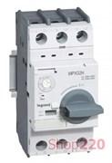 Автоматический выключатель для защиты двигателей 6 - 10 А, MPX3 32Н 417330 Legrand