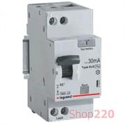 Дифференциальный автомат 40 А, 30 мА, хар-ка С, 419403 Legrand RX3