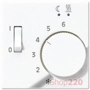 Накладка терморегулятора, белый, Jung A500 AFTR231PLWW