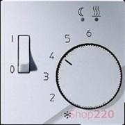 Накладка терморегулятора, алюминий, Jung A500 AFTR231PLAL