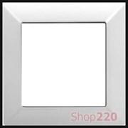 Рамка 1 пост, белый, JUNG Eco Profi EP481WW