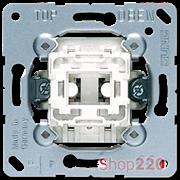 Выключатель 1-клавишный (механизм), Jung A500 501u
