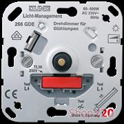 Светорегулятор универсальный (механизм), Jung A500 266gde