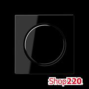 Накладка светорегулятора, черный, Jung A500 A1540SW