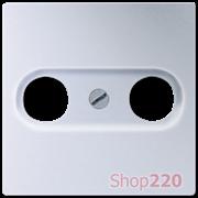 Накладка для ТВ розетки, алюминий, Jung A500 A561PLTVAL