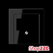 Накладка аудио-розетки, черный, Jung A500 A569PLTSW