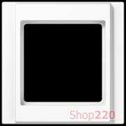 Рамка 1 пост, белый, Jung A500 A581WW