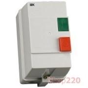 Контактор 25А в оболочке IP54, катушка 380В КМИ22560 IEK