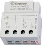 Диммер в подрозетник для светодиодных ламп 50Вт Finder