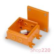 Коробка огнестойкая Е90, 150 x 150 мм, Ensto