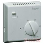 Термостат цифровой с датчиком IP65, ручное ВКЛ/ВЫКЛ, EK005 Hager
