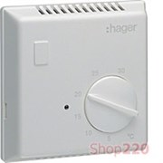 Термостат биметаллический без контрольного индикатора, EK054 Hager