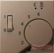 Накладка терморегулятора, мокка, Jung A500 AFTR231PLMO
