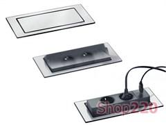Вращающийся блок розеток 220В+USB EVOline BackFlip