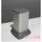 Мини-колонна напольная алюминиевая, высота 25см, серый, ДКС