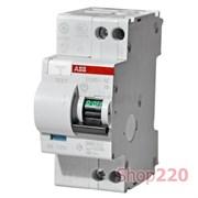 Дифавтомат 20А, 30мА, уставка C, ABB DS951AC-C20/0,03A