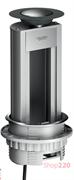 Выдвижной блок для розеток в стол, пустой на 8 модулей, ISM20401 Schneider Electric