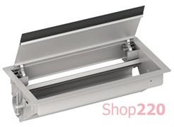 Врезной блок в стол для розеток, пустой на 12 модулей, ISM20410 Schneider Electric