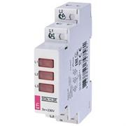 Трехфазный LED-индикатор наличия напряжения SON H-3R, ETI