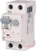 Диф. автомат 10А, 30 мА, тип C, HNB-C10/1N/003 Eaton 195125