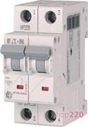 Автоматический выключатель 63А, тип C, 2 полюса, HL-C63/2 Eaton 194777