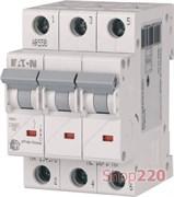 Автоматический выключатель 63А, тип C, 3 полюса, HL-C63/3 Eaton 194797