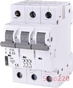 Автоматический выключатель 25А, 3 полюса, тип B, Eti 2175318