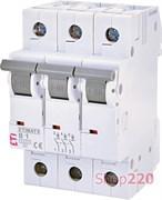 Автоматический выключатель 1А, 3 полюса, тип B, Eti 2115509