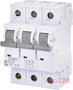 Автоматический выключатель 32А, 3 полюса, тип B, Eti 2115519