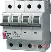 Автоматический выключатель 4А, 3+N полюс, тип B, Eti 2116511