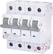 Автоматический выключатель 50А, 3+N полюс, тип B, Eti 2116521