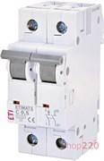 Автоматический выключатель 0,5А, 2 полюса, тип C, Eti 2142501