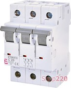 Автоматический выключатель 20А, 3 полюса, тип C, Eti 2145517