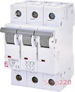 Автоматический выключатель 40А, 3 полюса, тип C, Eti 2145520