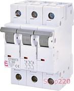 Автоматический выключатель 50А, 3 полюса, тип C, Eti 2145521