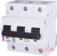 Автоматический выключатель 100А, 3 полюса, тип C, Eti 2135732