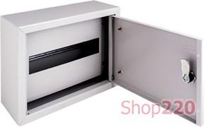 Щит металлический навесной на 12 модулей, IP31, e.mbox.pro.n.12z ENEXT s0100201
