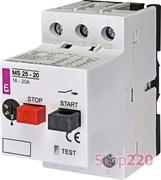Автомат защиты двигателя 20А, MS25-20 ETI 4600120