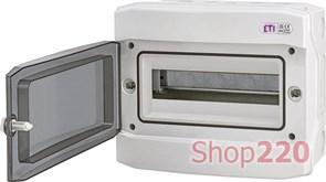 Щит электрический влагозащищенный IP65 на 12 модулей, навесной, ECH 12PT ETI 1101062