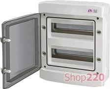 Щит электрический влагозащищенный IP65 на 24 модуля, навесной, ECH 24PT ETI 1101063