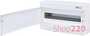 Щит на 18 модулей навесной, белая дверь, ECT 18PO ETI 1101007