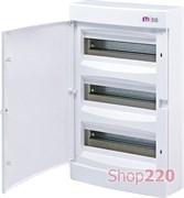 Щит на 36 модулей навесной, белая дверь, ECT 36PO ETI 1101009