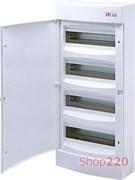 Щит на 48 модулей навесной, белая дверь, ECT 48PO ETI 1101021