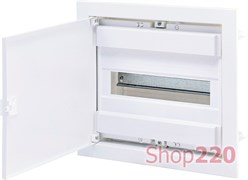 Щит электрический на 12 модулей, белая дверь, внутренний, ECG14 ETI 1101025