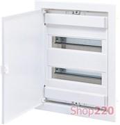 Щит электрический на 24 модуля, белая дверь, внутренний, ECG28 ETI 1101026