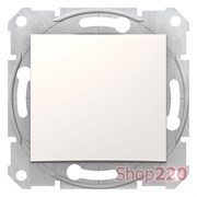 Перекрестный выключатель, кремовый, SDN0500123 Sedna Schneider