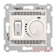 Термостат для теплого пола, кремовый, Sedna SDN6000323 Schneider