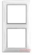 Рамка 2 поста, белый, ABB 2512-94-507 Basic 55